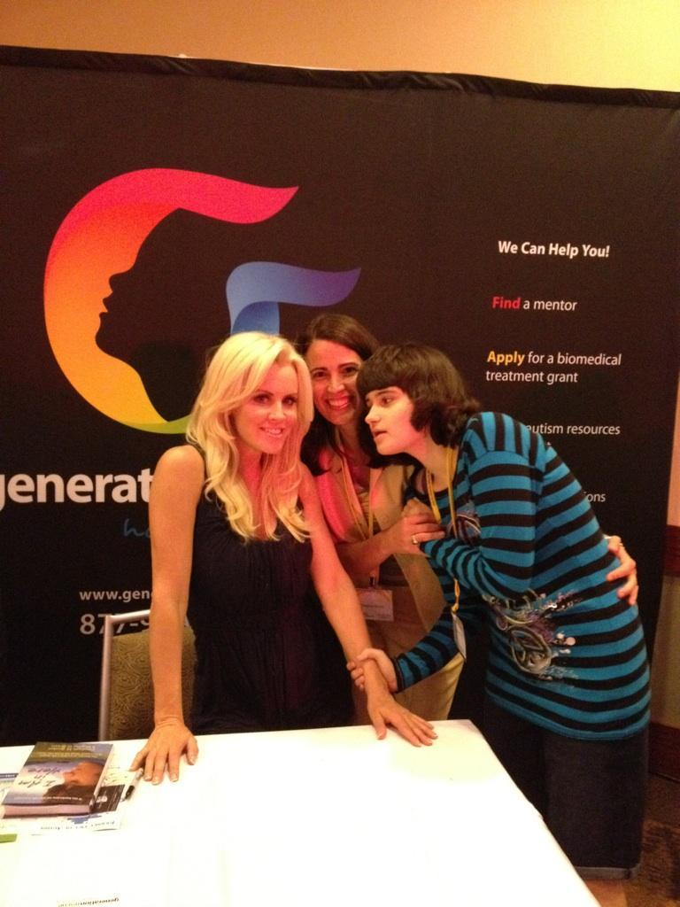 Ginnie Breen with Jenny McCarthy image