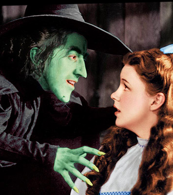 Wicked Witch and Dorothy image